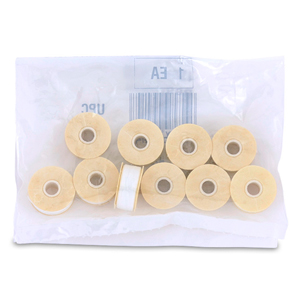 Nymo Thread, Size B, 0.20 mm (.008 in), White, 10 pc