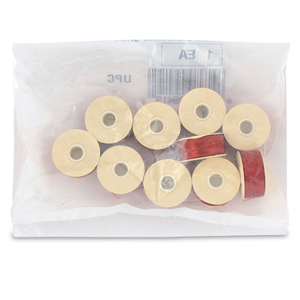 Nymo Thread, Size D, 0.30 mm (.012 in), Shoe Red, 10 pc