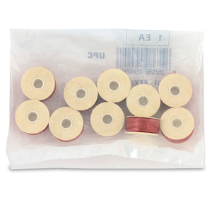 Nymo Thread, Size D, 0.30 mm (.012 in), Burgundy, 10 pc