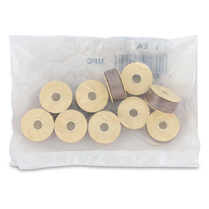Nymo Thread, Size D, 0.30 mm (.012 in), Grey, 10 pc