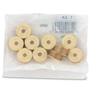 Nymo Thread, Size D, 0.30 mm (.012 in), Sand Ash, 10 pc