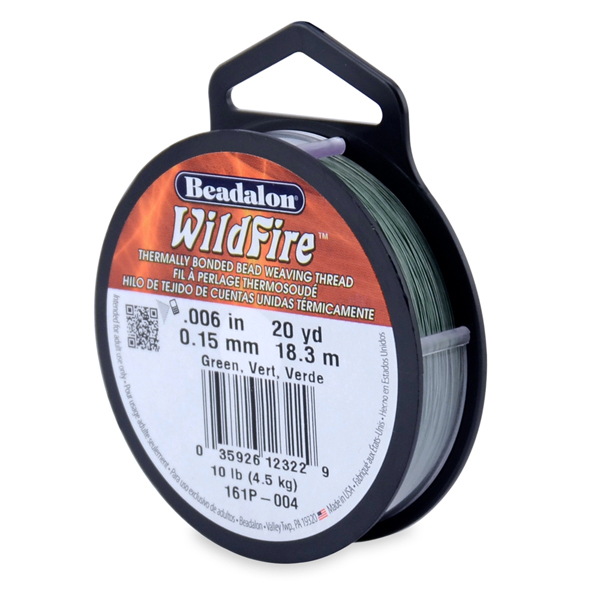 Wildfire, .008 in (.20 mm), Green, 20 yd (18 m)