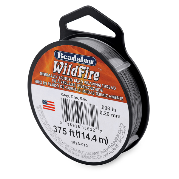 Wildfire, .008 in (.20 mm), Grey, 125 yd (114 m)