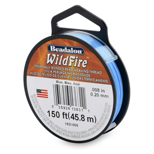 Wildfire, .008 in (0.20 mm), Break Strength 12 lb (5.5 kg), Blue, 50 yd (45 m)