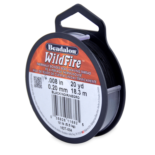Wildfire, .008 in (.20 mm), Black, 20 yd (18 m)