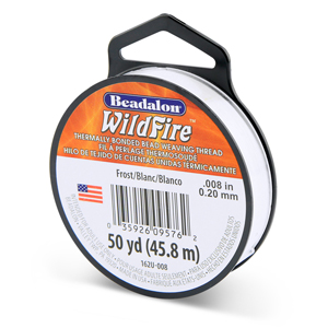 Wildfire, .008 in (0.20 mm), Break Strength 12 lb (5.5 kg), Frost, 50 yd (45 m)