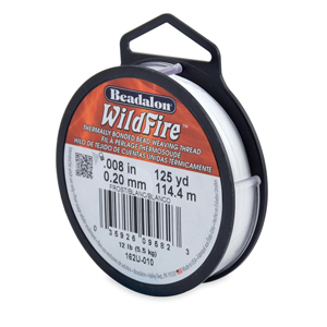 Wildfire, .008 in (0.20 mm), Break Strength 12 lb (5.5 kg), Frost, 125 yd (114 m)