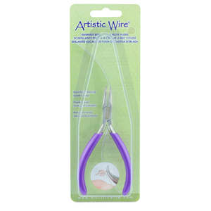 Artistic Wire Shimmer Bent Chain Nose Pliers 10.67 cm (4.2 in)