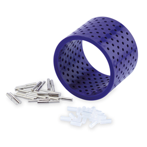 3D Bracelet Jig, with 20 Pegs 22 mm (0.86 in) L x 4mm (.15 in) O.D. and Holder tubes