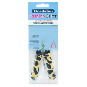 Fashion Grips Tool Covers, Cheetah Pattern, Fits Most Small PVC Tool Handles appx. 65 mm (2.56 in) long, 1 pair