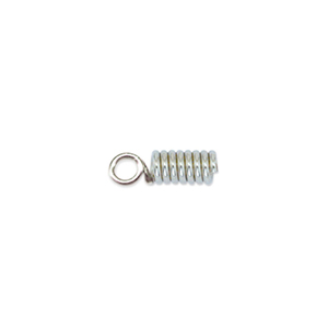 Spring Cord Ends, 1.8 mm (.070 in), Nickel Plated, 144 pc