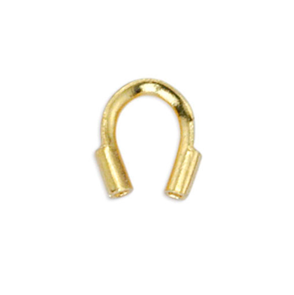 Wire Guardian, .022 in (0.56 mm) I.D., Gold Color, 20 pc