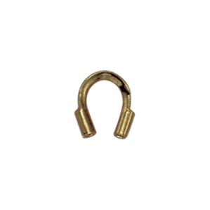 Wire Guardian, .022 in (0.56 mm) I.D., Antique Brass Color, 144 pc