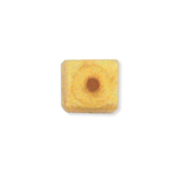 Bead Bumpers, 1.7 mm (.067 in), Cube, Gold, 50P