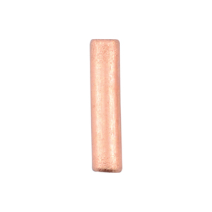 AW Lg Wire Crimp Tubes,10mm (.4 in), Bare Copper, for 16 ga wire, ID 1.5mm (.059  in), 55pc