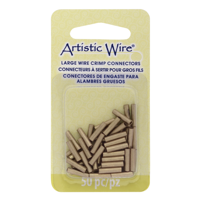 Beadalon - Artistic Wire Large Wire Crimp Connectors