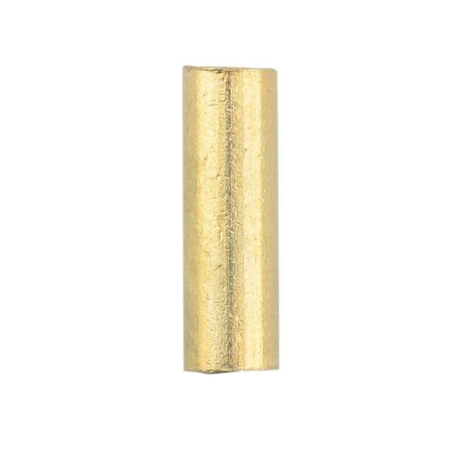 14 fin0532 gold color 10mm Brass Large Wire Crimp Tube Connectors 21 pcs Use with 12 Artistic Wire 16 gauge wire