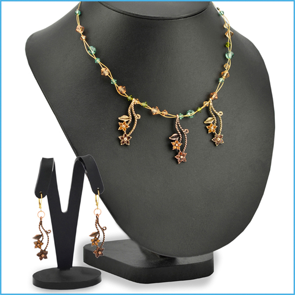 Brazilian Primavera Necklace and Earrings