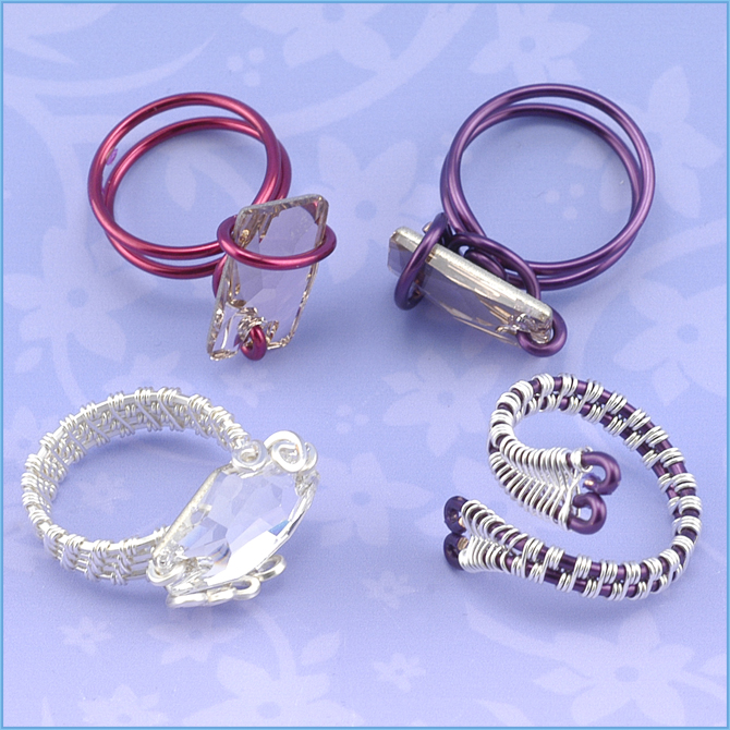 Making A Wire Ring Inspiration Wire Wrapped Rings