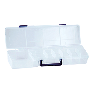 Bead Box, 19.5 x 5.5 x 3.63 in., (49.5 x 14 x 9 cm), 12 Moveable Dividers, 1 Removeable tray