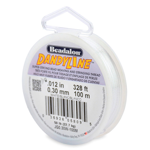 Dandyline, 0.30 mm (.012 in), White, 100 m (328 ft)