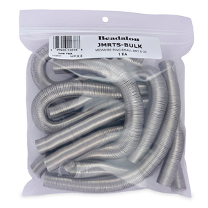 Remembrance Memory Wire, Round, Ring, Small, Bright, 8 oz (227 g), appx. 300 coils per ounce