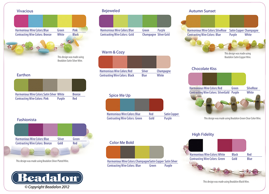 Bead Color Combinations - Working with Color