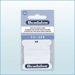 Beadalon Silk Cord Card