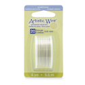 Artistic Wire, 20 Gauge (.81 mm), Silver Plated, White, 6 yd (5.5 m)