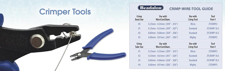 Beadalon JTCRIMP1 Bead Crimp Tool Standard