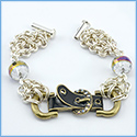 Chain Maille Buckle Bracelet