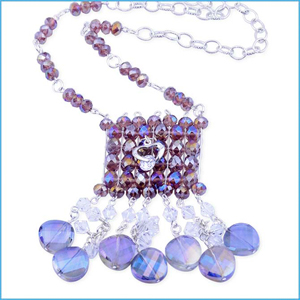 Glitzy Grape Necklace