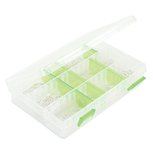 Bead Box, 8 x 5 x 1.5 in (20.3 x 12.7 x 3.8 cm), 9 Dividers