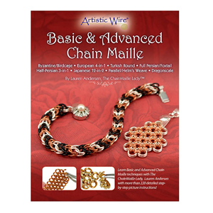 Chain Maille Basic & Advanced Booklet, by Lauren Andersen