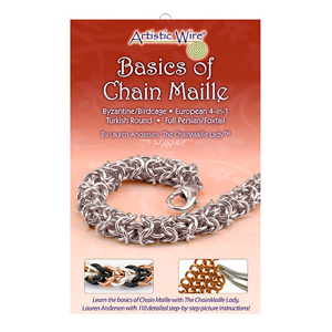 Chain Maille Beginning/Basics Booklet, by Lauren Andersen