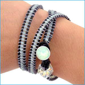 Wrapped Wire Bracelets