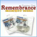 Stainless Steel Memory Wire - Remembrance