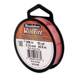 Wildfire, .006 in (.15 mm), Red, 50 yd (45 m)