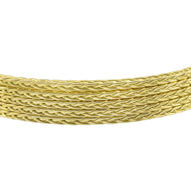 Artistic Wire, 14 Gauge (1.6 x 1.6 mm), Braid, Square, Bare Yellow Brass, 2.5 ft (.76 m)