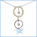 Weaver Pendant Star Necklace