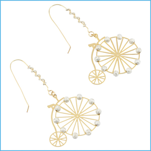Penny-Farthing Earrings